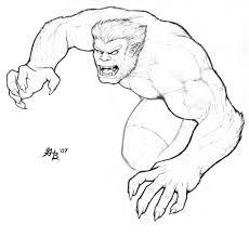 Cyclops cyclops is a mutant superhero who projects an optic blast. Beast From The X Men By Ghbarratt On Deviantart