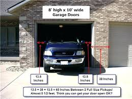 8 ft garage door x 8 garage door garage door size for pickup truck home ft 8 ft garage door