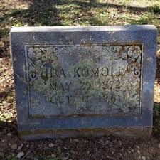 Ida Schneider Komoll (1872-1961) - Find A Grave Memorial