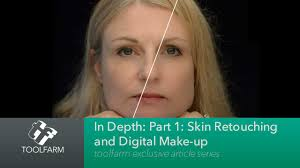in depth skin retouching and digital makeup part 1