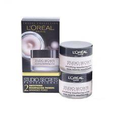 l oreal studio secrets smoothing resurfacing primer 15ml 2 pack new free p p