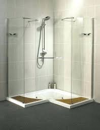 shower enclosure kits custom medium size of with manufacturers by tile