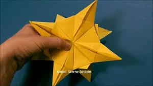 Sterne Basteln Weihnachtssterne Basteln Aus Papier