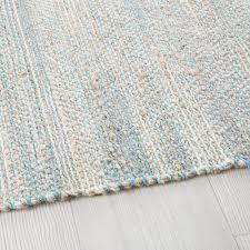 gewebter teppich aus jute und baumwolle 140x200 maisons du monde
