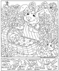 Small Picture Hidden Object Coloring Pages 4 Best Images Of Highlight Picture