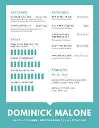 Graphic Resume Templates Customize 397+ Creative Resume templates online - Canva