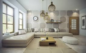 trendy lighting. trendy lighting options for warm living room design with pretty wall paint color and white clock