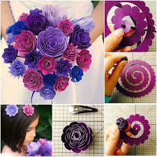 How To Make A Simple Paper Flower Bouquet Making Paper Flower Bouquet Magdalene Project Org