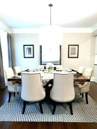 dining room area rug size contemporary rugs typical sizes black circle kitchen table non standard typical area rug sizes