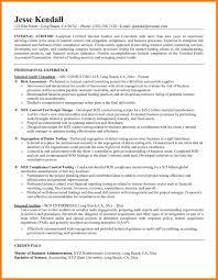 6 Internal Auditor Resume Sample Action Words List