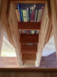 four lights tiny house company. A Walk Through Custom Weller: Bookshelf Stairs | Four Lights Tiny House Company I
