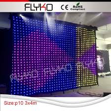 incredible diy stage backdrop free full color decoration led in idea frame for birthday stand wedding portable black