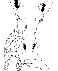 Free Printable Giraffe Coloring Pages For