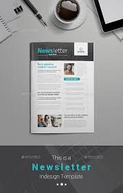 newsletter template for pages 25 modern indesign newsletter templates