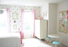 A Pink White Gold Shabby Chic Glam Girls Bedroom Reveal White And ...