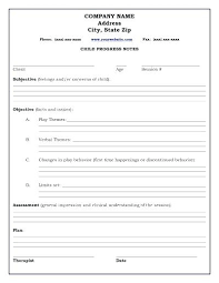 Soap Note Format Template Soap Progress Notes Group Note Template Form Group