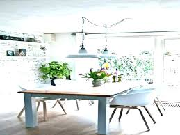 height of chandelier over dining table above lighting hanging tables pendant standard