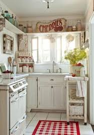 Shabby Chic Kitchen Design Interior
