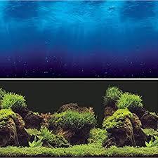 Aquarium Backgrounds Amazon Com Vepotek Aquarium Background Double Sides Deep Sea