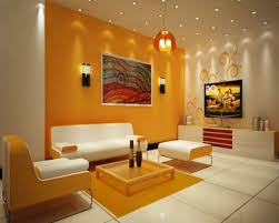 Orange And Yellow Living Room White And Yellow Living Room With Striking Lamp Design Ideawhite