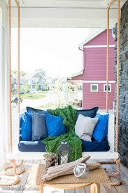 portland summer porch rope swing