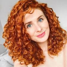 Hairstyles For Curly Ginger Hair