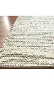 rug shedding luxury chunky braided wool post