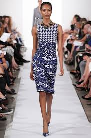 Oscar De La Renta spring 2014 collection at New York fashion week
