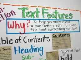 Text Features Anchor Chart Pdf Text Features Lessons Tes Teach