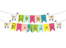 happy birthday customized banners amazon com llama and cactus happy birthday banner or