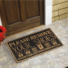 Please Remove your Shoes Coir Door Mat (18-Inchx30-Inch) - Free ...