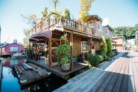 Houseboats In Seattle Photos Inside A Lake Union Seattle 2 Story Floating Luxurious