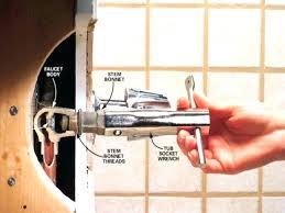 fixing bathtub faucet the best images of replacing shower diverter valve installing spout