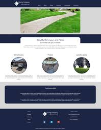 Bespoke Web Design Company Portfolio Gillistics Paving Bespoke Web Design In St