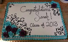 Very Specific Graduation Sheet Cake I Made Teal And Burgundy Wine