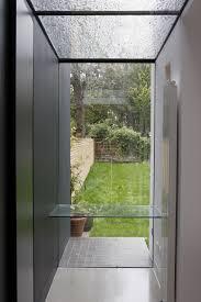 Edging Glass Design Full Length Frameless Structural Glass Stepped Edge Section