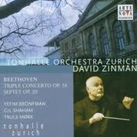 Violin concerto, op. 61 ; Violin romances, op. 40 et 50