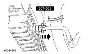 2006 explorer xlt the radiator 4 0l automatic overdrive 2006 Ford Explorer 4 0 Engine Diagram note 4 6l (3v) engine shown, 4 0l sohc engine similar using the special tools, remove the cooling fan Ford 4.0 SOHC Engine Diagram