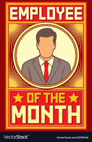 Employee Of The Month Template With Photo Employeeofthemonth Rome Fontanacountryinn Com