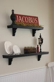 painting shelves ideasDecorations  King Shelving Furniture Ideas Feature Black Scheme