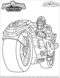 Power Rangers 37 Superheroes Printable Coloring Pages