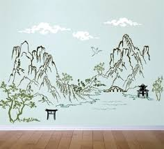 asian wall art oriental wall art uk  on asian wall art uk with asian wall art wall decals temple wall decal header oriental wall