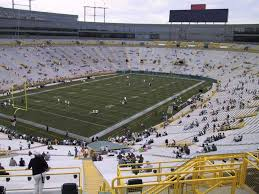 Lambeau Field Seating Chart Lambeau Field View From Upper Level 345 Vivid Seats