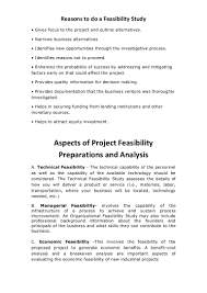 Sample Feasibility Report Business Feasibility Study Example Pdf And Business Feasibility 16