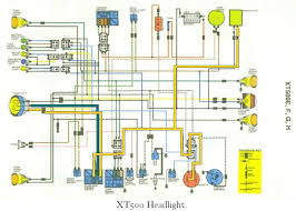 yamaha xt 500 wiring diagram xt500 1978 wiring diagram xt500 wiring diagrams some owners try