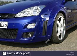 Car, Ford Focus RS, Limousine, model year 2002-, blue, Lower Stock ...