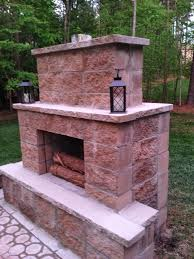stylish decoration how to build an outside fireplace adorable 1000 ideas about diy outdoor fireplace on