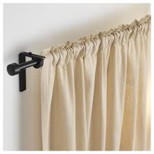 ikea rÄcka curtain rod combination can be mounted on the wall or ceiling the length