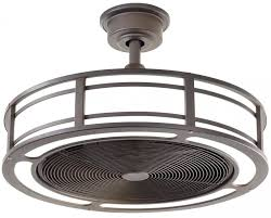 flush mount caged ceiling fan. Ceiling Fan ~ Caged Fans Cage Enclosed Black With Regard To Attractive Home Drum Ideas Flush Mount N