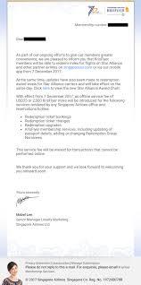 Singapore Airlines Krisflyer Devalues Star Alliance Award